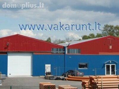 For sale Manufacture and storage premises Klaipėdos r. sav., Jakuose