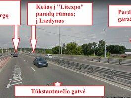 Garažas Vilniuje, Naujamiestyje, Eigulių g.