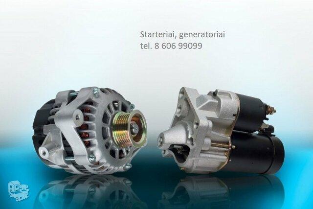 Starteris-generatorius Alfa Romeo Stelvio