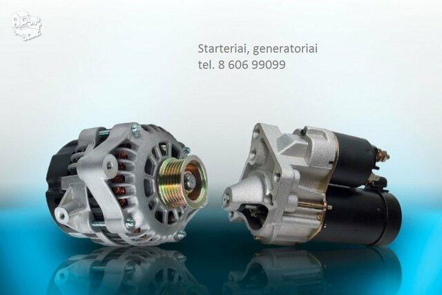 Starteris-generatorius Audi S3