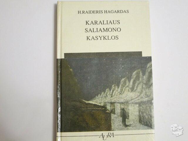 Karaliaus Saliamono kasyklos. H.Raideris Hagardas.