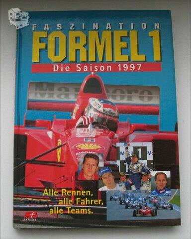 Formulės F1 knyga vokiečių kalba