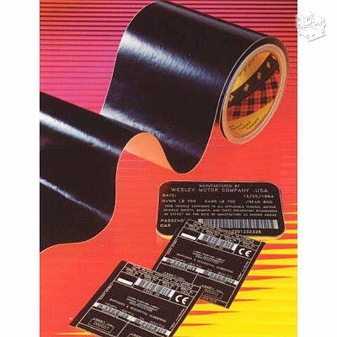 3M Security tape graviravimo plėvelė