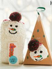 """Kalėdinės šiltos kojinės """"Snowman"""""""