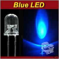 100 vnt 5mm LED + 100 Resistorių (varžų) 12V