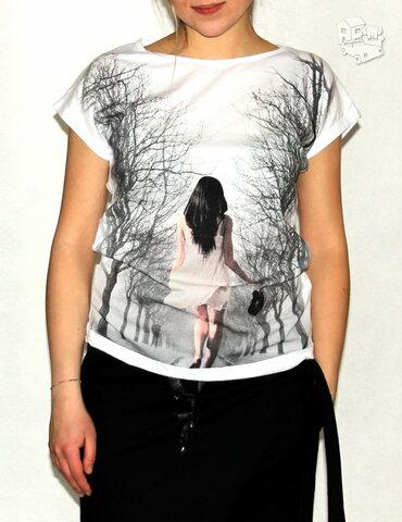 Foto marškinėliai moteriški. Išpardavimas