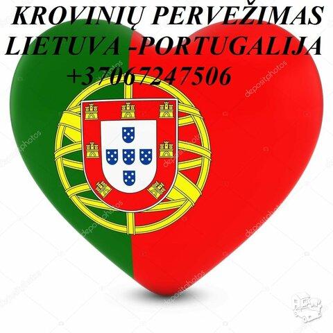 Perkraustymas į PORTUGALIJĄ! Perkraustymas iš PORTUGALIJOS !