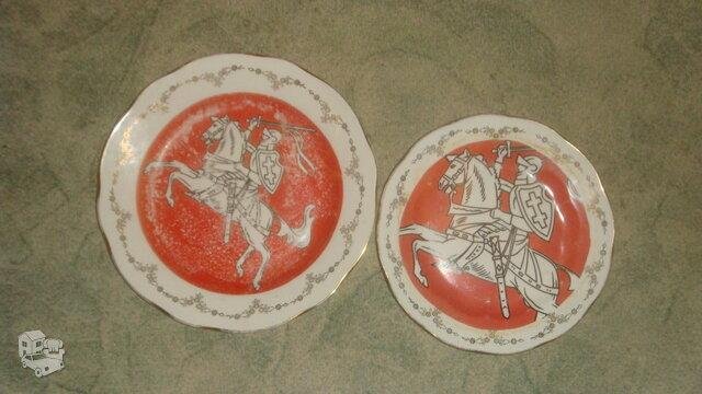 Vintažinės  dekoratyvinės lekštės