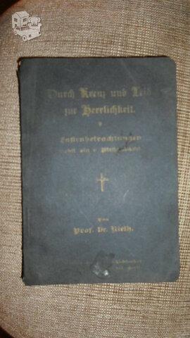 Vokiška religinė knygutė 1906m