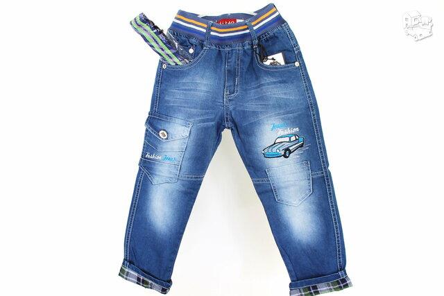 Stilingi džinsai berniukams iki 6 metų