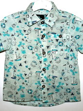 Marškiniai berniukams trumpomis rankovėmis