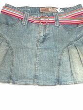 Džinsinis teniso sijonas mergaitei