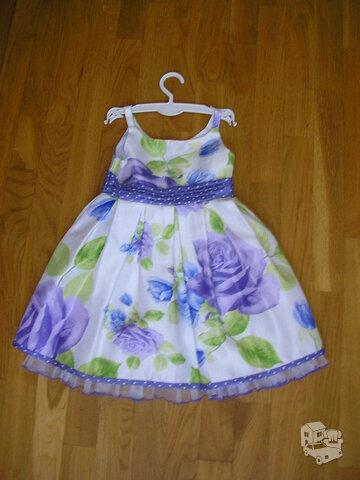 Labai graži puošni suknelė (2-4 metukų)