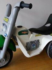 Elektrinis triratis motociklas, 6 V variklis