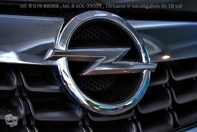 Opel atsargines dalys