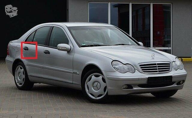 Mercedes Benz C-Klasė W-203, Durų spyna
