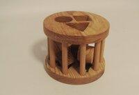 Medinė dėlionė - formų rūšiuoklis
