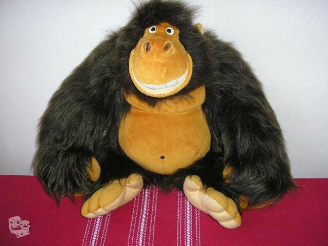 Minkšta besišypsanti bezdžionė
