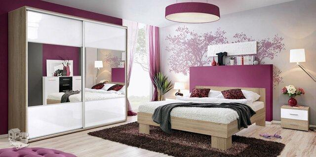 Miegamojo baldų komplektas Vika