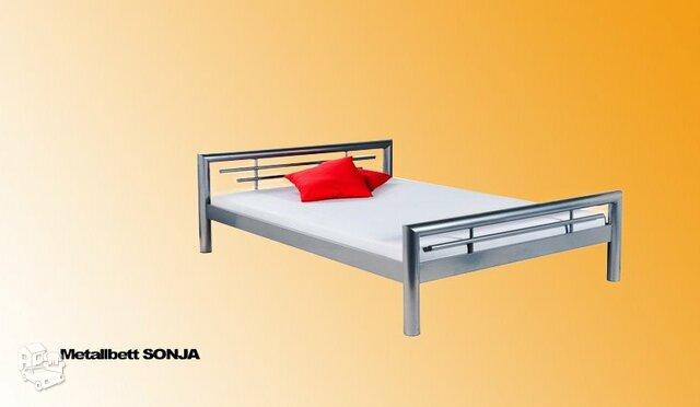 Dvivietė metalinė lova Sonja