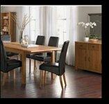 Valgomojo stalas išskleidžiamas LINFORD