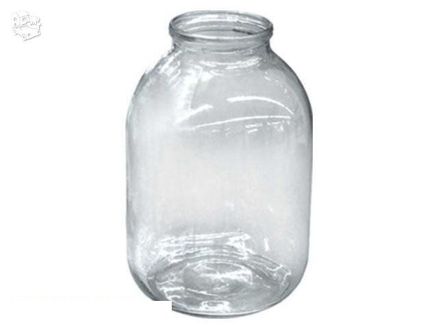 3 L konservavimo stiklainiai