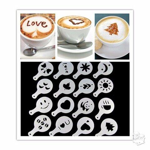 Kavos pabarstukų formelės, 16 vnt.