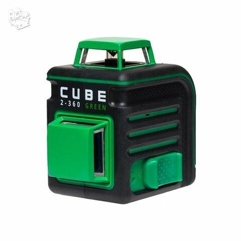 Lazerinis nivelyras ADA CUBE 2-360 Green Žalias sipndulys