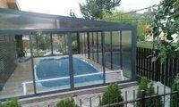 Pirties, priespirčio, terasos, pavesinės, monsardos stiklinimas