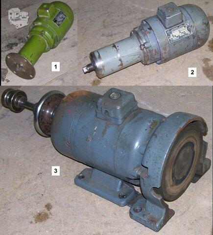 Elektros varikliai medžio apdirbimo staklėms