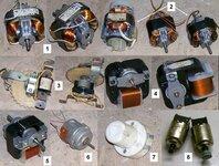 Elektros varikliai ventiliatoriams ar gartraukiams