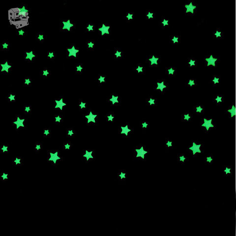 Švytinčios žvaigždutės, 100vnt.