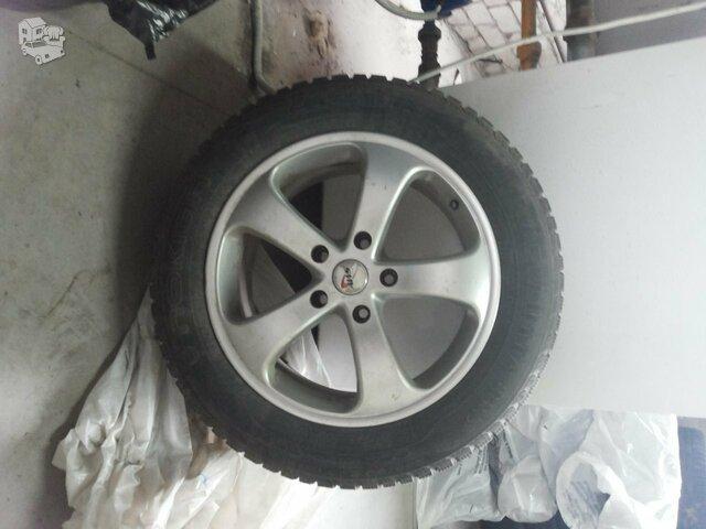 Lieti ratlankiai su žieminėmis padangomis, Nokian R18