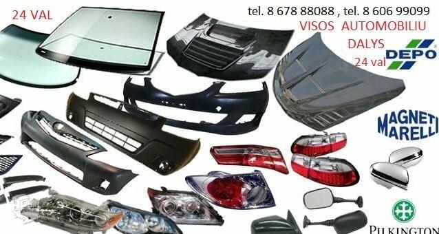 Fiat Ducato žibintai / kėbulo dalys