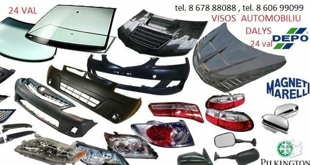 Fiat Multipla žibintai / kėbulo dalys