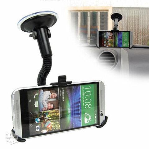 HTC ONE m7 ir HD2 automobilinis  laikiklis
