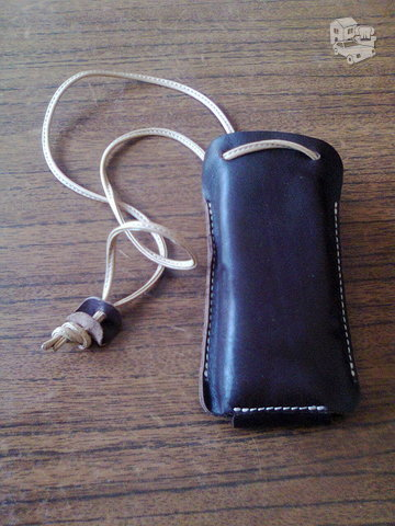 Telefono dėklas odinis
