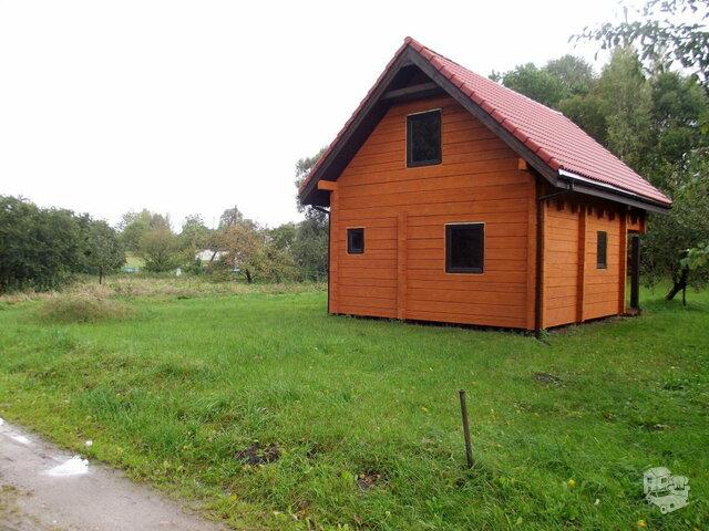 Sodo namas Plungės r. sav., Alksnėnuose, Pamiškės g.