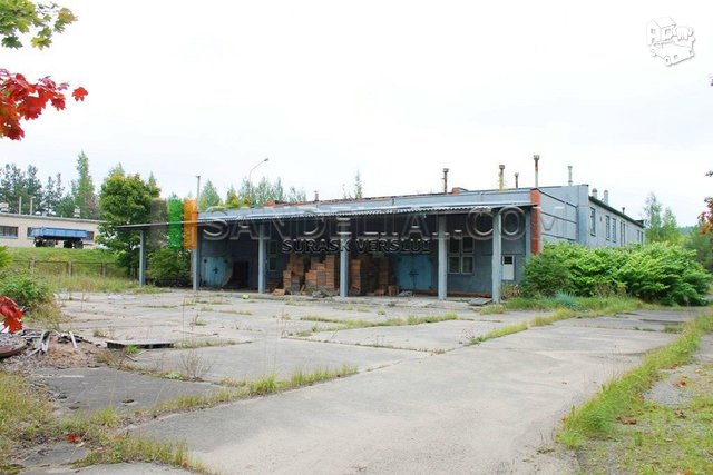 Parduodamos Sandėliavimo patalpos Ignalinos r. sav., Ignalinoje, Technikos g.