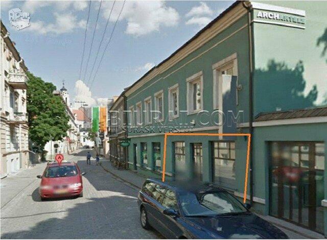 Kitos Patalpų nuoma Vilniuje, Senamiestyje, Klaipėdos g.