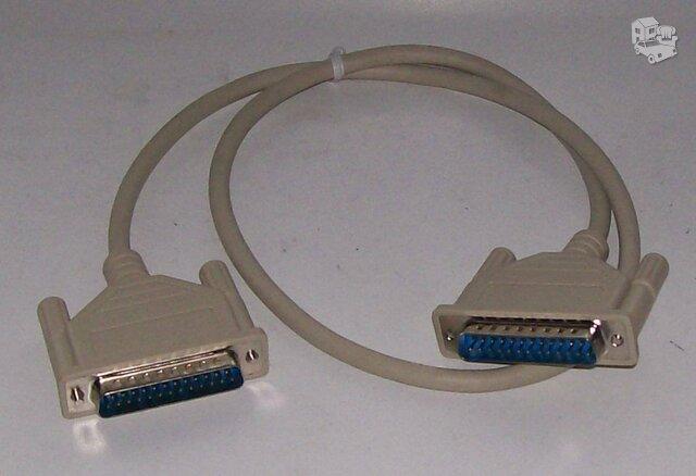 Spausdintuvo ir kompiuterio jungtis