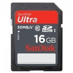 Sandisk SD 16gb 30mb/s