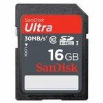 Sandisk SD 16gb 30mb/s