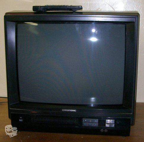 Televizorius Grundig TVR 5510 su integruotu vaizdo grotuvu