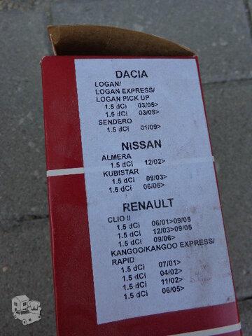 Renault Clio dalys