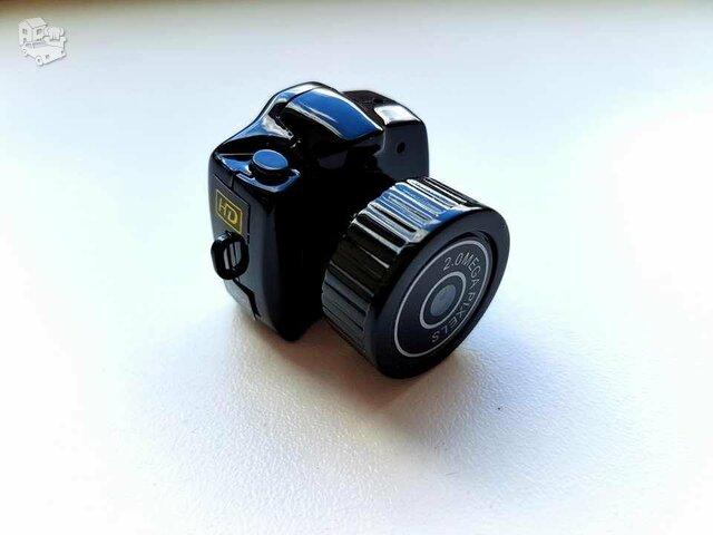 Nauja mini slapta sekimo kamera