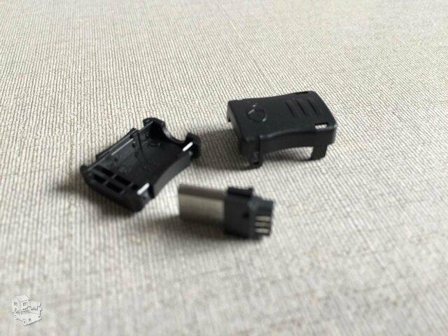 USB kištukai Micro USB B tipo